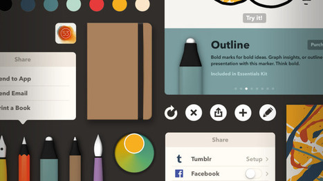 FiftyThree Updates Creativity App Paper For iOS 7 To Improve Navigation And ... - TechCrunch | Edtech PK-12 | Scoop.it