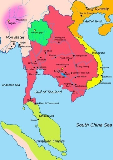 Khmer Empire | Year 8 History - Angkor: Khmer Empire (c.802 – c.1431) | Scoop.it