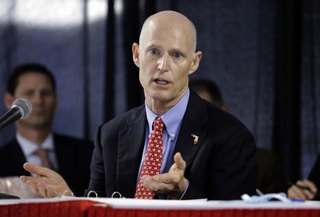Florida Gov. Rick Scott visits California to lure away businesses | California | Scoop.it