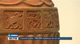 Il y a un an, le Musée Louvre-Lens ouvrait ses portes au public - Vidéo - RTL Vidéos | Les Etrusques et la Méditerranée. La cité de Cerveteri | Scoop.it