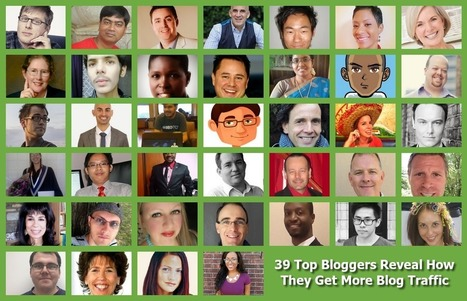 39 Top Bloggers Reveal How They Get More Blog Traffic | How to Pinterest, How to Twitter,  How to do something, How to fix something, How to tips | Scoop.it