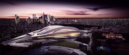 Japanese Architects PROTEST Zaha Hadid's 2020 Olympic Stadium | The Architecture of the City | Scoop.it