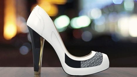 These High-Tech High Heels Change Color With the Click of an App | Wearable Technologies | Scoop.it
