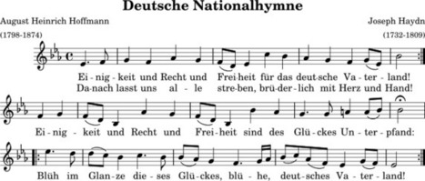 Why Players Don't Sing the German Anthem | Angelika's German Magazine | Scoop.it