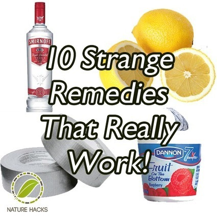 DIY Garden and Crafts - 10 Strange Home Remedies That Really Work | Reuse | Scoop.it