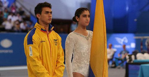 Jossimar Calvo labró un nuevo oro en su carrera