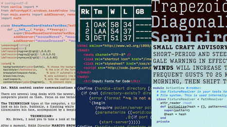 There's Finally A Modern Typeface For Programmers | ASCII Art | Scoop.it
