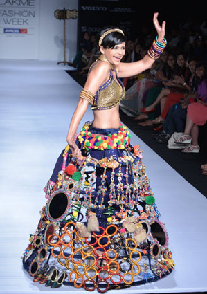 India Art n Design: Trends from Lakme Fashion Week 2013 | I don't do fashion, I am fashion | Scoop.it