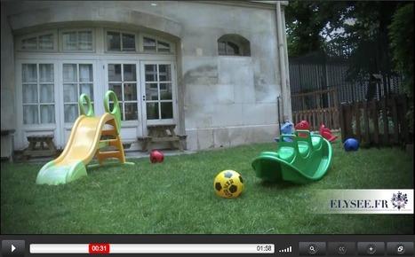 Vidéo - Visite de la crèche de l'Elysée | Autour de la puériculture, des parents et leurs bébés | Scoop.it