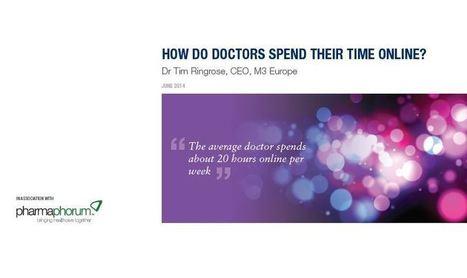 How do doctors spend their time online?   Digital Pharma mktg   Scoop.it