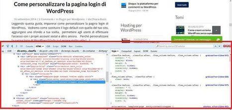 Guida introduttiva al CSS per chi usa WordPress | Literature, art, technology and science | Scoop.it