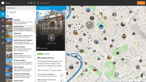 Tripomatic: Crea un itinerario de tu próximo viaje en segundos | Utilidades TIC para el aula | Scoop.it