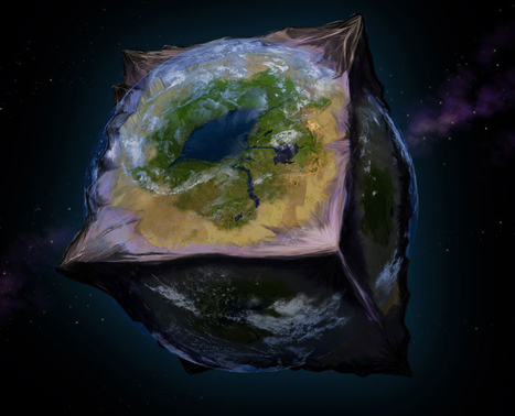 Awesome Artistic Rendering of Planet Earth, Cubed! : Discovery News | Mapmakers | Scoop.it