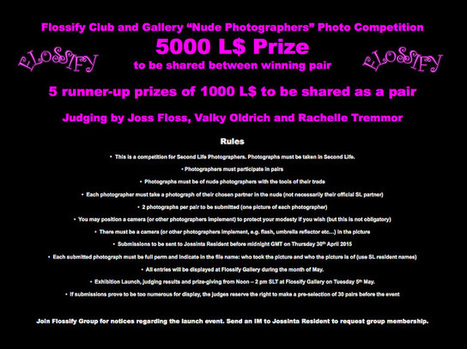 "Flossify ""Nude Photographers"" photo competition 