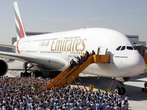 Emirates Is Now Giving Airbus 43 Billion Reasons To Build A New Superjumbo Jet | Zabeel International Web Pics | Scoop.it