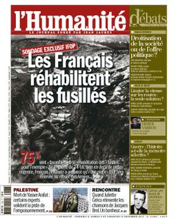 1914-18: 75% des Français pour réhabiliter les soldats fusillés   Actualités politiques   Scoop.it