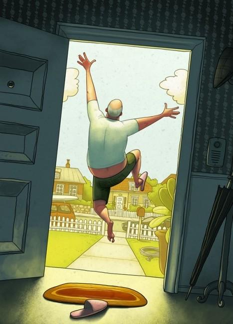 Les fabuleuses illustrations de Denis Zilber | CRAW | Scoop.it