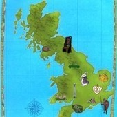 Interactive map: places that shaped the English language | The Jesters' Assize | Scoop.it