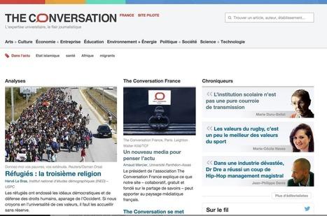 The Conversation. Un nouveau média en ligne pour éclairer l'information | Les outils du Web 2.0 | Scoop.it
