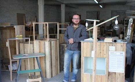 Des meubles en bois recyclé, 100% écolo - Tendance Ouest   Ameublement   Scoop.it
