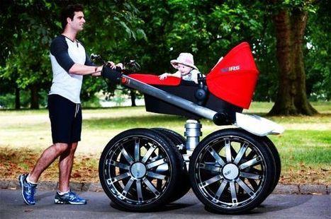 Skoda vRS Mega Man-Pram is one pimped up baby stroller | DamnGeeky | Scoop.it
