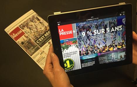 Le 1er janvier, La Presse arrête son quotidien papier pour privilégier la tablette - leJDD.fr | marketing stratégique du web mobile | Scoop.it