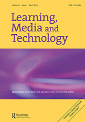 Learning, Media and Technology - Volume 41, Issue 1   TfL   Scoop.it
