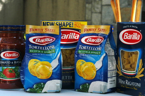 Barilla: 'Gays can eat someone else'spasta' | Global hot news | Scoop.it