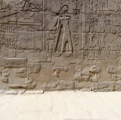 Temple Of Karnak, engraved wall | Awesome Photography | Scoop.it