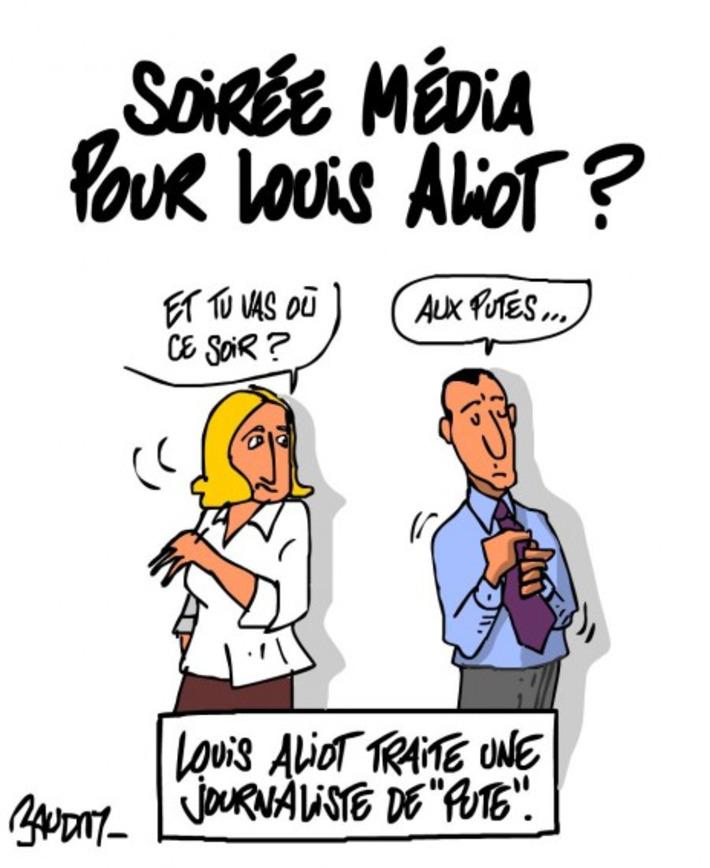 Elections: plateau télé pour Louis Aliot? | Baie d'humour | Scoop.it