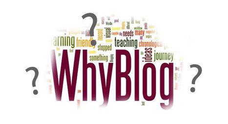 Perché creare un blog - I motivi ed i benefici principali | Webdesign | Scoop.it