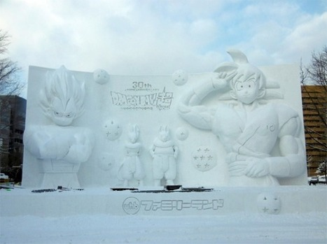 Dragon Ball, The Super Huge Snow Sculpture   HiddenTavern   Scoop.it
