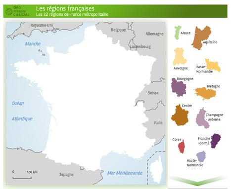 Le redécoupage régional : scénarios cartographiés, analyses de géographes — Géoconfluences   Géographie : les dernières nouvelles de la toile.   Scoop.it