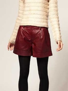 Urbanized Modish Leather Women Shorts | Leather Apparels World-Wide | Scoop.it