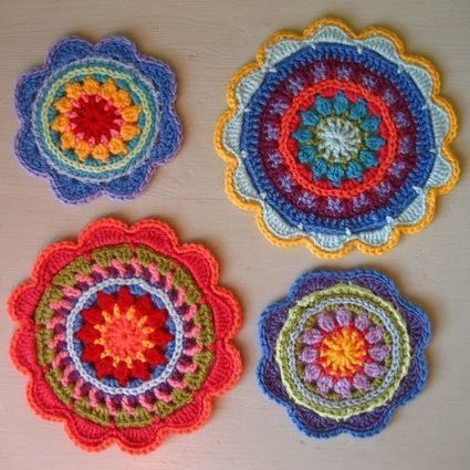 Attic24: Mandala Flowers | Knitting for everyday comfort and delight | Scoop.it