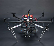 Rothamsted unveils octocopter crop-monitoring drone | world news | Scoop.it