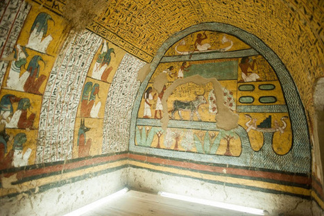 Four Egyptian tombs open to public for the first time | Histoire et Archéologie | Scoop.it
