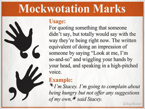 4 New Punctuation Marks For The 21st Century | Google@walnut | Scoop.it