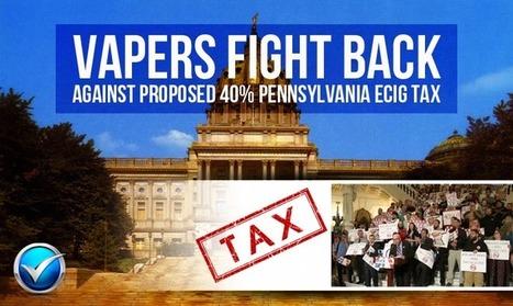 Pennsylvania Proposes 40 Percent Vaping Tax   E Cig - Electronic Cigarette News   Scoop.it