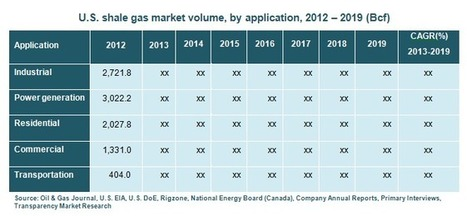 Unconventional Gas Market : An Overview of Growth Factors and Future Prospects 2013 - 2019 | MarketHits | Scoop.it