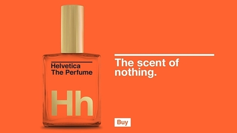 Helvetica Perfume, 'For Those Who Dare to Be the Same' | Creative Feeds | Scoop.it