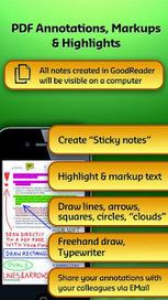"""Read anything anywhere with unique """"GoodReader"""" iphone app 