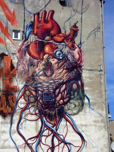 Lump – New Mural In Lodz, Poland'2012 | GRAFFART | World of Street & Outdoor Arts | Scoop.it