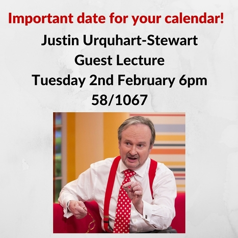 Justin Urquhart-Stewart Guest Lecture | UoS Business School Undergraduate News | Scoop.it