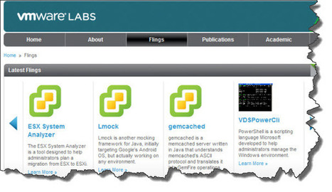 VMware Flings Site – where the Free VMware treasures are - ESX Virtualization | vmware | Scoop.it