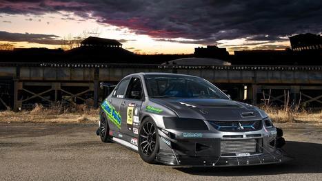 Black Racing Car Mitsubishi Lancer Evolution VIII HD Wallpaper - Cool Wallpapers | Mitsubishi | Scoop.it