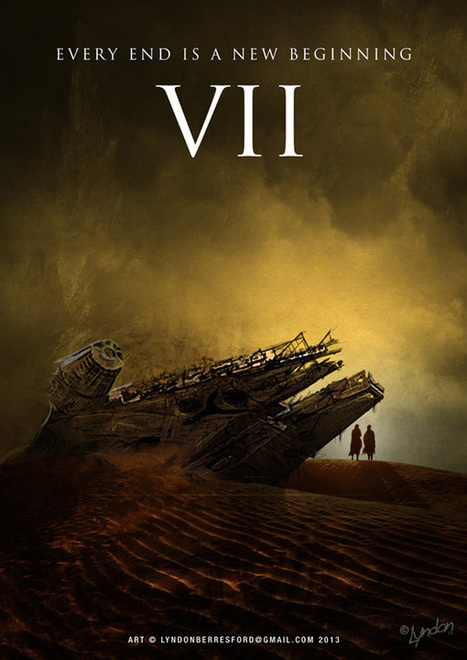 Star Wars Episode VII Fan Art Poster | Star Wars, l'origine du Geek | Scoop.it