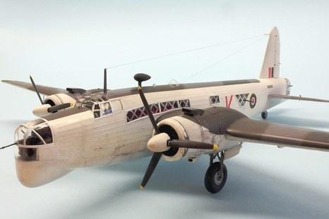 Vickers Wellington Mk.XIV | Military Miniatures H.Q. | Scoop.it