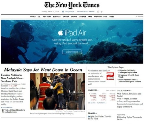 Pub Apple malencontreuse (NY Times) - Arrêt sur images | Métier de documentaliste-iconographe | Scoop.it