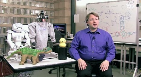 Yale-led team developing social robots | Cyborg Lives | Scoop.it